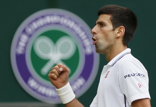 Niềm vui chiến thắng của Djokovic
