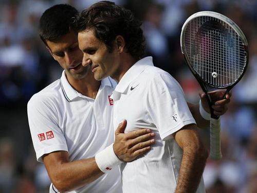 Djokovic và Federer - hai phong cách đối nghịch trên sân bóng