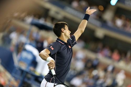 Djokovic lần thứ tám liên tiếp vào đến bán kết giải Mỹ mở rộng