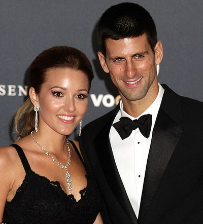 Đôi vợ chồng Novak Djokovic - Jelena Ristic vui mừng đón đứa con đầu lòng