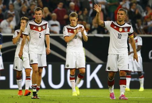 Tuyển Đức thua trận đầu tiên sau World Cup