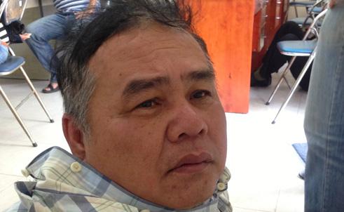 Ông Dương Ngọc Bảy khi bị bắt vào trưa 28-2, nay được trả tự do vì chưa đủ chứng cứ.