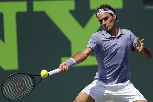 Federer dễ dàng vượt qua Themo De Bakker