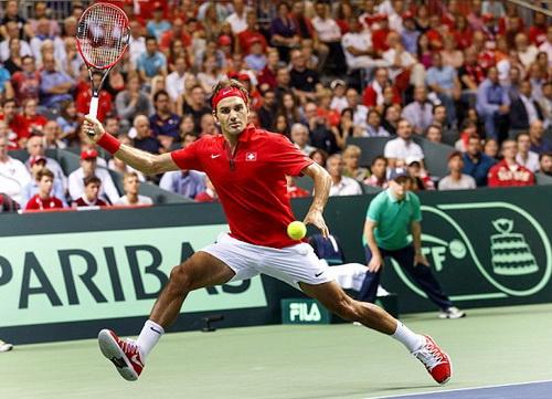 Roger Federer nhận lời khi phong độ tốt dần lên từ đầu năm đến nay