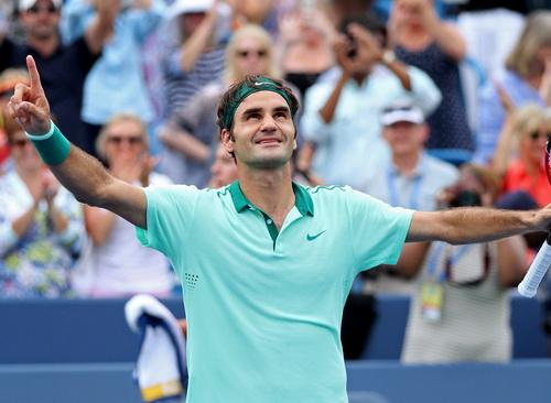 Federer và niềm vui chiến thắng