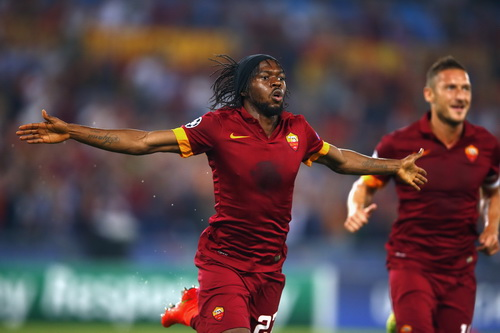 Gervinho lập cú đúp trong chiến thắng 5-1 của Roma trước CSKA Moscow