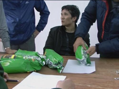 Nguyễn Phú Cường bị bắt cùng tang vật