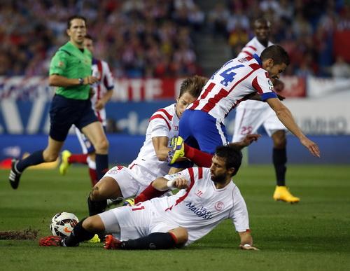 Saul Niguez ghi bàn thứ nhì cho Atletico