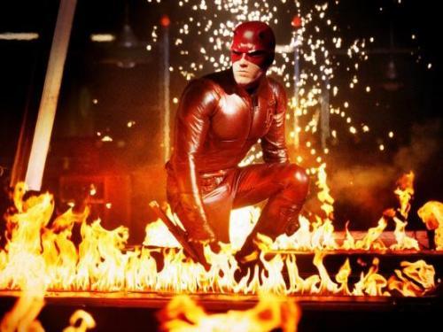 Thất bại với vai siêu anh hùng hơn 10 năm trước trong phim Daredevil (ảnh) là thách thức mà Ben Affleck phải vượt qua