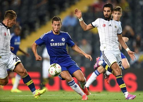 Eden Hazard có trận ra mắt trên đất Thổ Nhĩ Kỳ