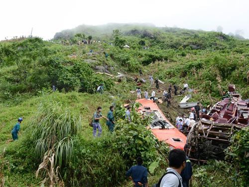 Hiện trường kinh hoàng của vụ tai nạn thảm khốc ở Sa Pa