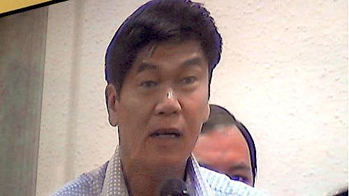 Ông Trần Đình Long, Chủ tịch HĐQT của Tập đoàn Hoà Phát sáng nay 30-5 tại toà