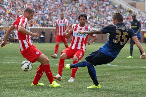 Jovetic (35) ghi bàn thắng thứ 5 tại giải
