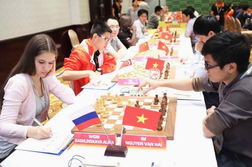 Trận đấu giữa Alina Kashlinskaya và Nguyễn Văn Hải