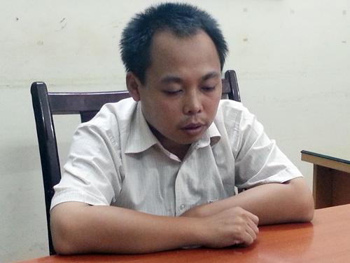 Kẻ không chế con tin Trần Thanh Bình tại cơ quan công an