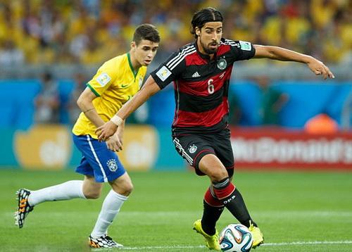 Khedira tỏa sáng ở World Cup 2014