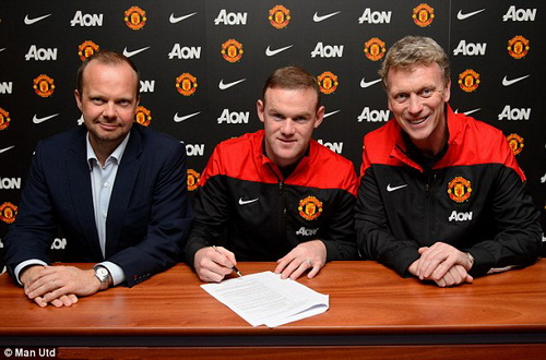 Rooney sẽ trở thành tượng đài thực sự ở Old Trafford với bản hợp đồng mới