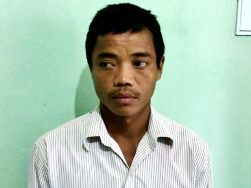 Tài xế Trần Doãn Thắng bị bắt sau khi gây tai nạn chết người rồi bỏ trốn