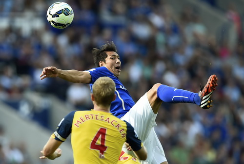 Leomadro Ulloa gỡ hòa cho Leicester
