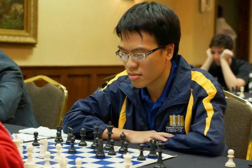Quang Liêm vô địch tại giải ĐH liên Mỹ trong màu áo ĐH Websters