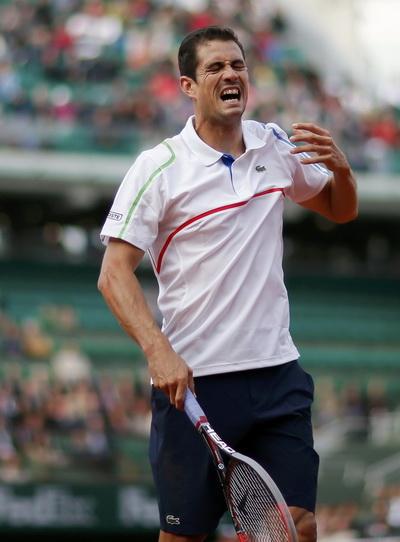 Niềm vui của Lopez khi loại tay vợt hạt giống số 3