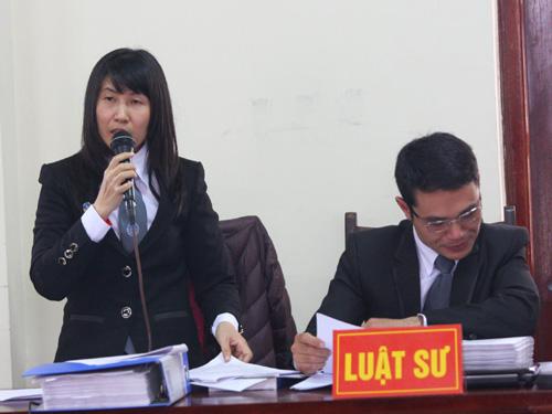 Luật sư Lê Thị Oanh cho rằng cơ quan điều tra đã vi phạm Luật Tố tụng hình sự