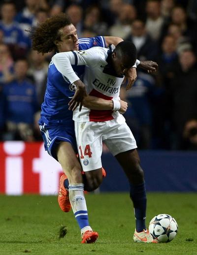 David Luiz chơi rất hay ở trận lượt về