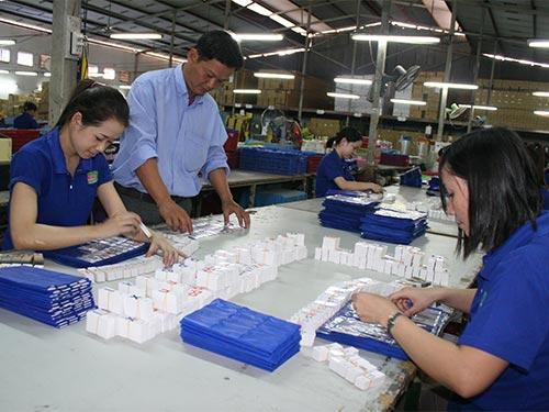 Công nhân Công ty CP Thiết bị Giáo dục Minh Đức luôn được đảm bảo việc làm, phúc lợi ổn định
