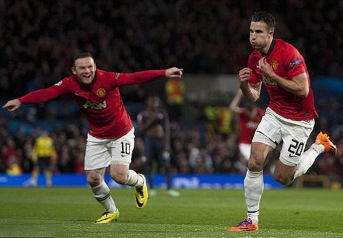 Lịch đấu thuận lợi, M.U chờ HLV Van Gaal hồi sinh bộ đôi Rooney - Van Persie