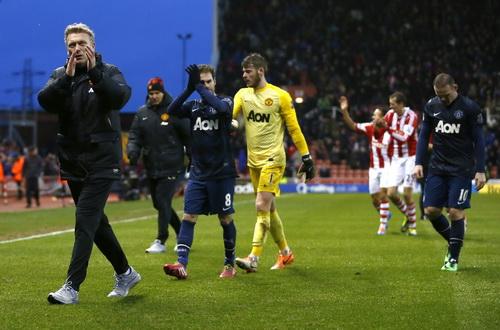 Man United lần đầu thảm bại dưới tay Stoke City