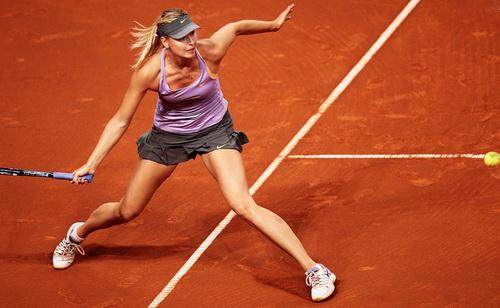 Sharapova có cơ hội bảo vệ ngôi vô địch