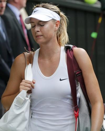 Masha lặng lẽ chia tay giải đấu ở London