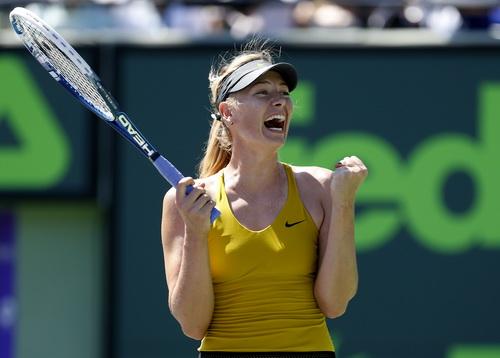 Maria Sharapova vào bán kết Miami Open