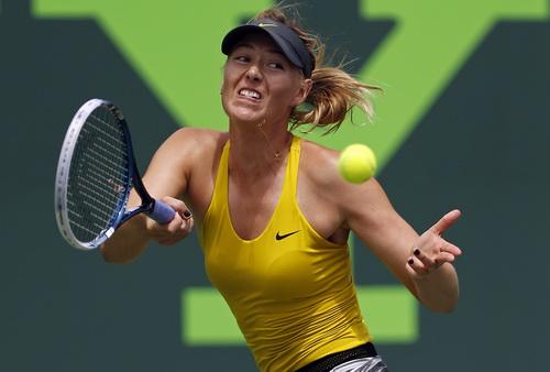 Sharapova chỉ còn xếp hạng 9 thế giới