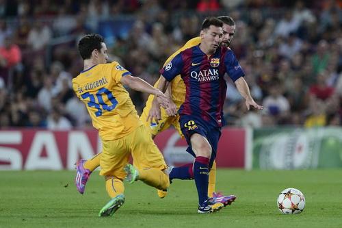 Messi vẫn là niềm cảm hứng cho Barcelona ở mọi mặt trận