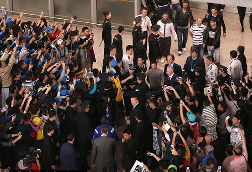 Messi và tuyển Argentina được chào đón nồng nhiệt tại Bắc Kinh