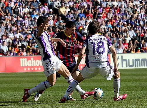 Messi thi đấu rất hay nhưng không thể ghi bàn