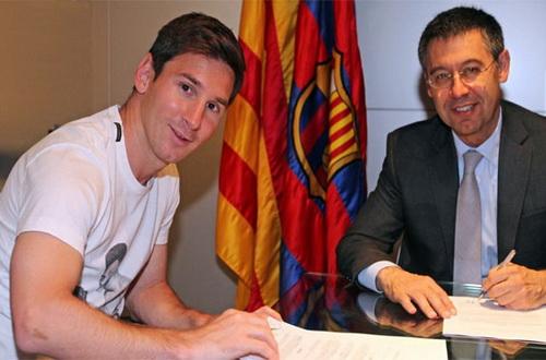 Lionel Messi sẽ ký thanh lý hợp đồng với Barcelona dưới áp lực từ Adidas và quyết tâm của Man United?