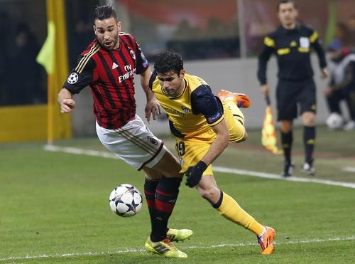 Trận đấu tại Milan không quá hấp dẫn như mong đợi