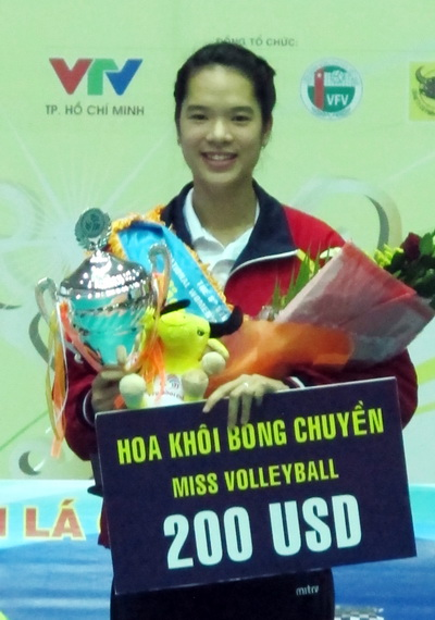 Miss bóng chuyền Lê Thanh Thúy (Tuyển trẻ Việt Nam)