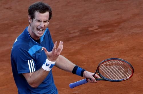 Andy Murray không hài lòng với điều kiện thi đấu ở Napoli