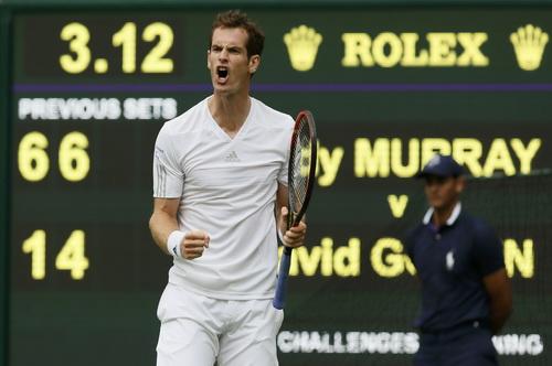 Andy Murray có chiến thắng mở màn trước David Coffin