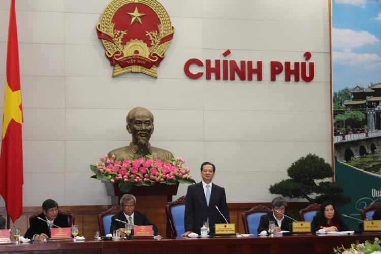 Thủ tướng Nguyễn Tấn Dũng đánh giá cao những kiến nghị của Tổng LĐLĐ Việt Nam và giao cho các cơ quan thuộc Chính phủ phối hợp xem xét, giải quyết một cách có hiệu quả