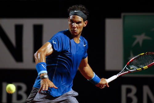 Nadal không còn giữ được ưu thế của ông vua sân đất