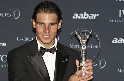 Nadal từng được nhận giải thưởng