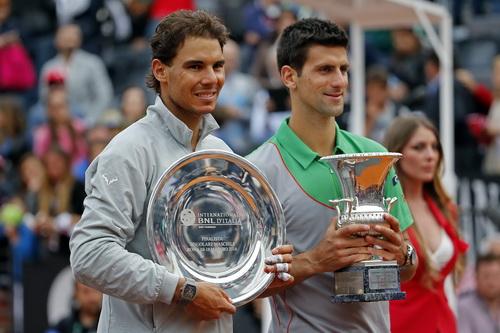 Nadal đang bị Djokovic tấn công ráo riết vào vị trí số 1