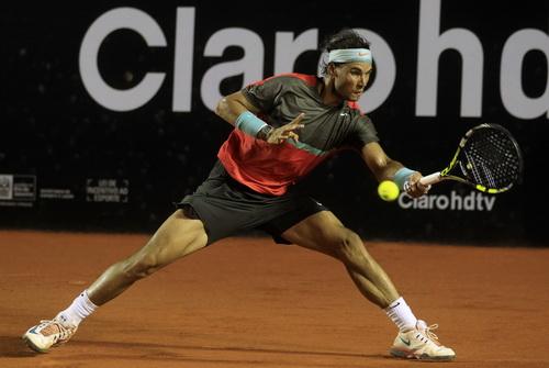 Nadal quá mạnh trong việc chinh phục Rio Open 2014