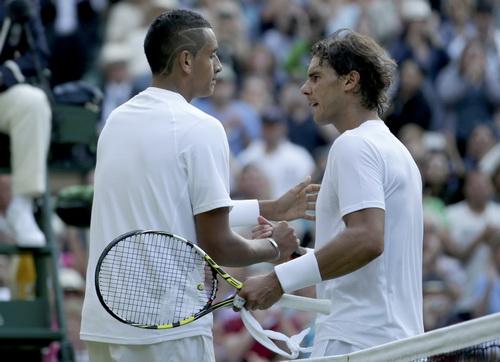 Việc bị tay vợt trẻ Nick Kirgyos loại sớm ở Wimbledon 2014 khiến Nadal mất luôn vị trí số 1 ATP