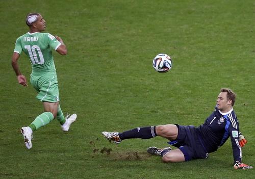 Thủ môn Neuer khai sinh khái niệm thủ thành-libero tại World Cup 2014