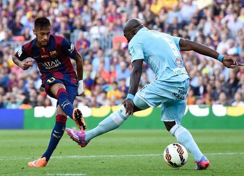 Neymar lập hat-trick cho Barca